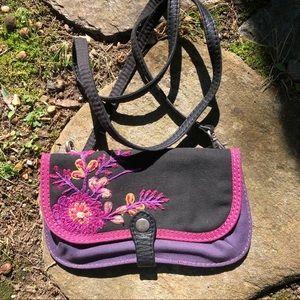 EUC Lucky Brand Boho small crossbody/wallet